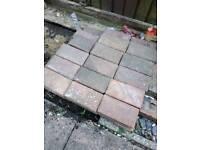 Block paving blocks / bricks, concrete, approximately 70