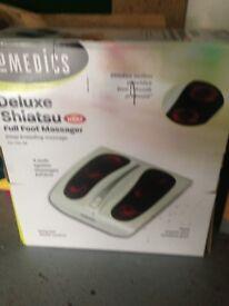 Deluxe Shiatsu foot massager still in box unwanted gift
