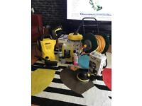Karcher. K2 pressure washer with all accessories you will ever need