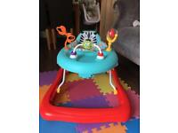 Baby walker barely used ex condition