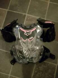 Kids motocross armour