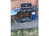 Barbeque - Kingsun electric and gas outdoor barbecue with gas canister
