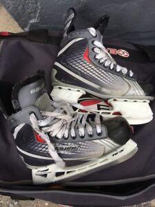Nike Bauer hockey skates