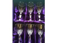 Royal Crystal Rock WINE GLASSES