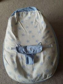 Bambeano Baby Bean Bag Support Chair - Blue