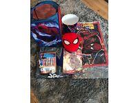Spiderman bedroom items