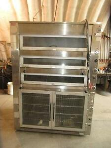 BRUTE TRIPLE PIZZA OVEN/ PROOFER $3500.00 Located in LETHBRIDGE