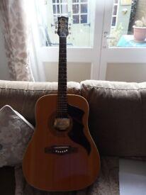 Eko 1970s Acoustic guitar and case