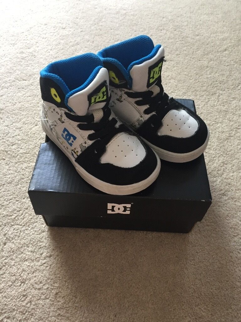 Infant Boys DC trainers