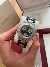 Cartier Chronoscaph 21 - With Box & Papers