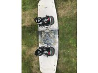 Ronix wakeboard and bindings