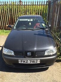 2001 seat Ibiza for sale
