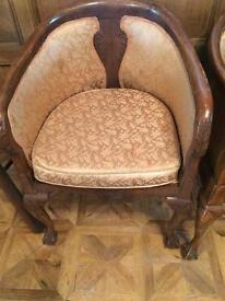 Bucket Chairs circa 1950s