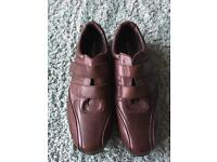Men's Brown Leather Casual Shoes New