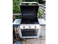 3 burnerFire Mountain Gas Barbecue