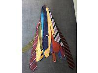20 silk ties