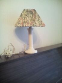 M & S table lamp