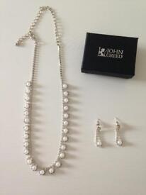 John Greed Romance necklace & earrings set