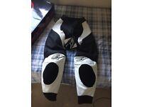 Alpinestars leather trousers new unused