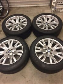 BMW wheel rims and tyres
