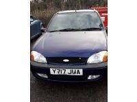 Ford Fiesta Freestyle 2001 £549 ONO