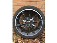 "GENUINE JAGUAR XFR 20"" DRACO ALLOY WHEEL."