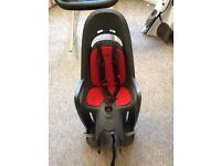 Hamax child's rear bike seat