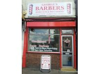 Experienced Barber Required part - time in Streatham (South London)