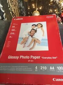 Canon Gloss Photo Printer Paper