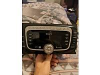 Ford sony 6cd changer radio