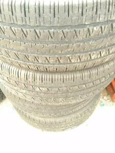 235/55R19x4 HANKOOK OPTIMO H725  101 H USED ALL SEASON TIRES FOR SALE
