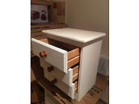 Lovely Solid Pine Bedside Table/ Chest of drawers