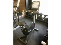 LIFE FITNESS 95C ENGAGE UPRIGHT BIKE FORSALE!!