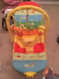 Large mothercare bouncy chair
