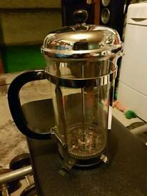 Glass coffee press