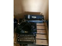 Antique typewriters (2).
