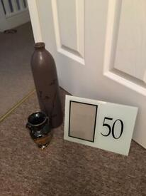 Vase / photo frame