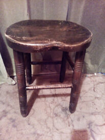 Old small stool.