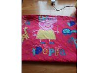 Peppa Pig toddler bed sized bedding