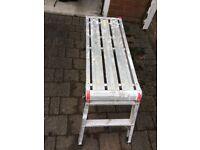 Abru aluminium work platform bench 700 x 300 x 510mm