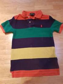 Boys Ralph Lauren polo t-shirt age 6