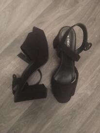 Next Heeled platform sandals Brand New size 6