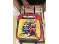 Power rangers luggage