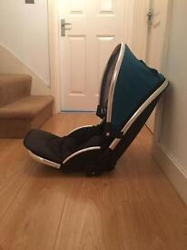 Oyster max tandem seat (not lie flat)