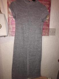 Grey new look split top