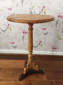 Pine Victorian Side Table