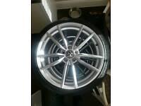 VW Golf MK6 Alloys & Tyres