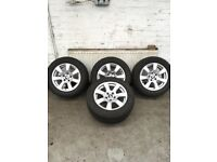 Bmw alloys (great condition/excellent tyres)