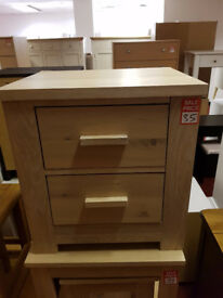 constable solid oak bedside