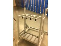 Gym storage , dumbbell, medicine ball, weights and bars rack